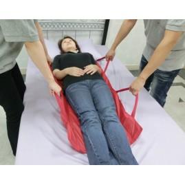 Usztywnione nosze płachtowe - ślizgowe do przenoszenia chorych - duże