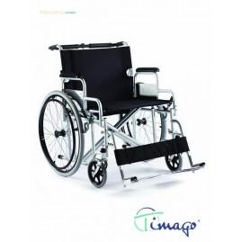 Wózek inwalidzki stalowy