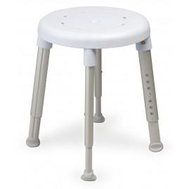 Etac Easy - stołek prysznicowy z regulacją wysokości (okrągłe siedzisko)
