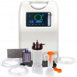 Cichy koncentrator tlenu z funkcją nebulizacji HELTES